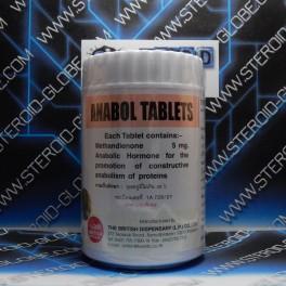 Anabol, Methandienone, British Dispensary