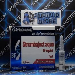 Strombaject aqua, Stanozolol, Balkan Pharmaceuticals